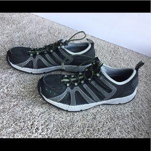 Men's Eddie Bauer Water Boat Shoes Black Size 9